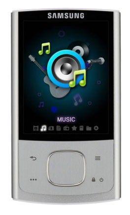 MP3 плеер SAMSUNG YP-R0AS flash 4Гб серебристый [yp-r0as/xer]
