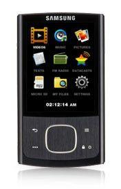 MP3 плеер SAMSUNG YP-R0CB flash 8Гб черный [yp-r0cb/xer]