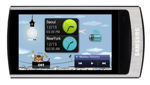 MP3 плеер SAMSUNG YP-R1AS flash 4Гб серебристый [yp-r1as/xer]