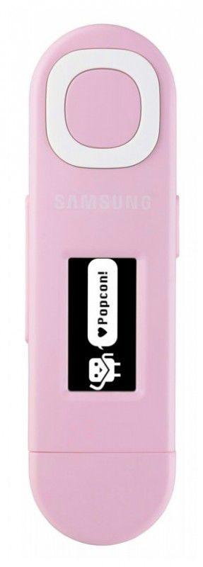 MP3 плеер SAMSUNG YP-U5QP flash 2Гб розовый [yp-u5qp/xer]