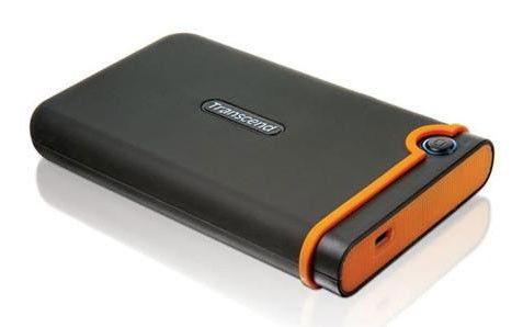 Внешний жесткий диск TRANSCEND StoreJet 25M TS640GSJ25M, 640Гб, черный