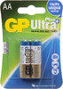 AA Батарейка GP Ultra Plus Alkaline 15AUP LR6,  2 шт. вид 1