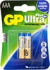 Батарея GP Ultra Plus Alkaline 24AUP LR03,  2 шт. AAA вид 1