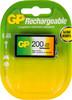 Аккумулятор GP 20R8H,  1 шт. 9V,  200мAч вид 1