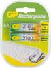 AA Аккумулятор GP 210AAHC,  2 шт. 2100мAч вид 1