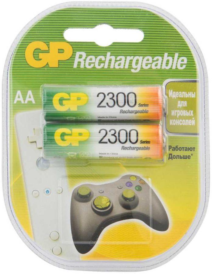 AA Аккумулятор GP 230AAHC,  2 шт. 2250мAч
