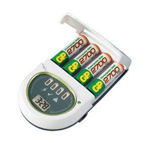 Аккумулятор + зарядное устройство GP PowerBank PB65-GS270SA-2UE4,  4 шт. AA,  2700мAч
