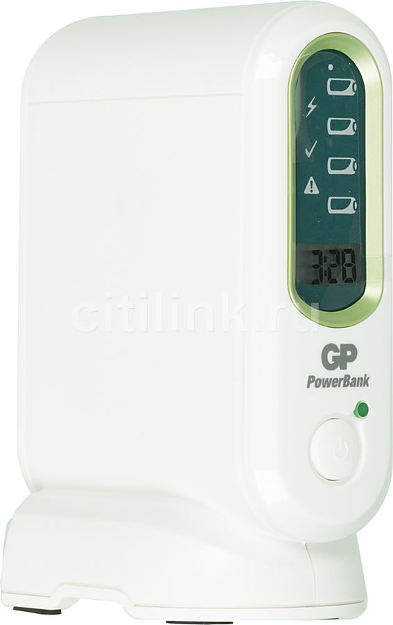 Аккумулятор + зарядное устройство GP PowerBank PB80GS270SA,  4 шт. AA,  2700мAч