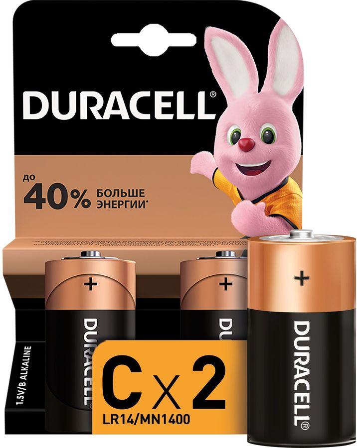 Батарея DURACELL Basic LR14-2BL,  2 шт. C