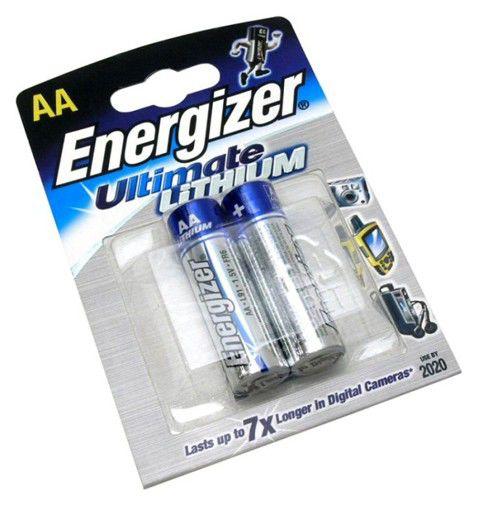Батарея ENERGIZER FR6 L91,  2 шт. AA