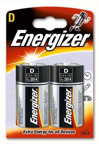 Батарея ENERGIZER LR20,  2 шт. D