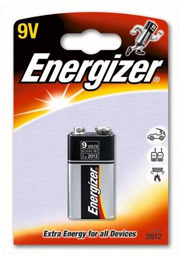 Батарея ENERGIZER 6LR61,  1 шт. 9V