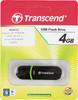 Флешка USB TRANSCEND Jetflash 300 4Гб, USB2.0, черный и зеленый [ts4gjf300] вид 4