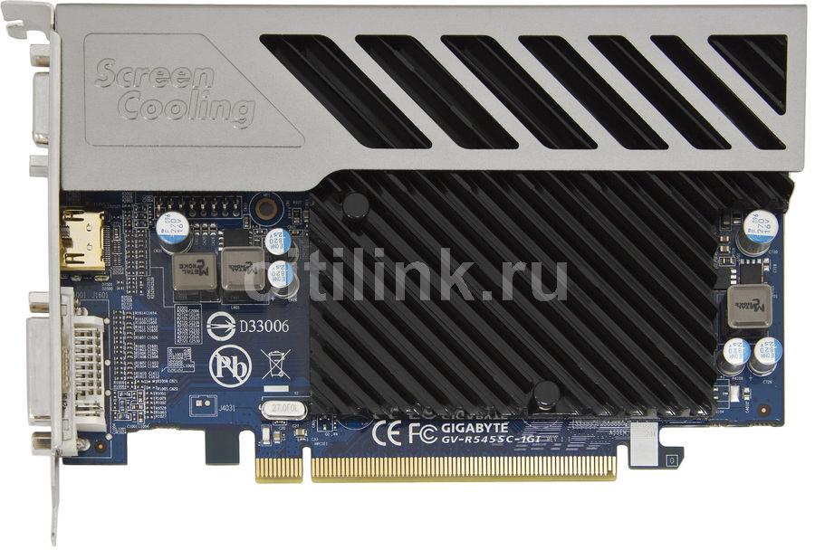 Видеокарта GIGABYTE Radeon HD 5450,  1Гб, DDR3, Ret [gv-r545sc-1gi]
