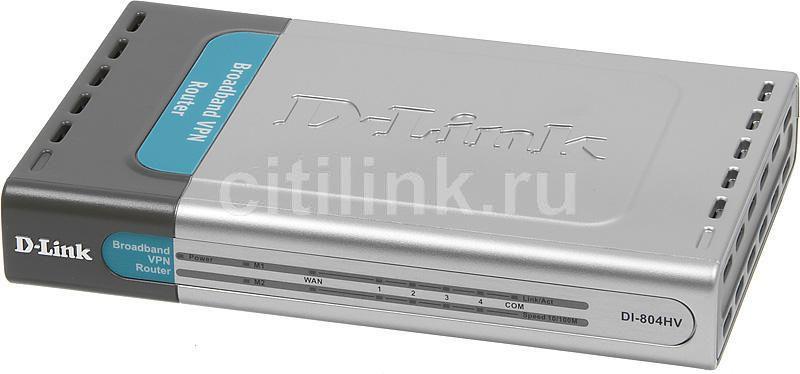 D-LINK DI-804 ROUTER WINDOWS 7