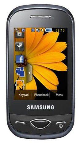 Мобильный телефон SAMSUNG Diva GT-B3410  черный
