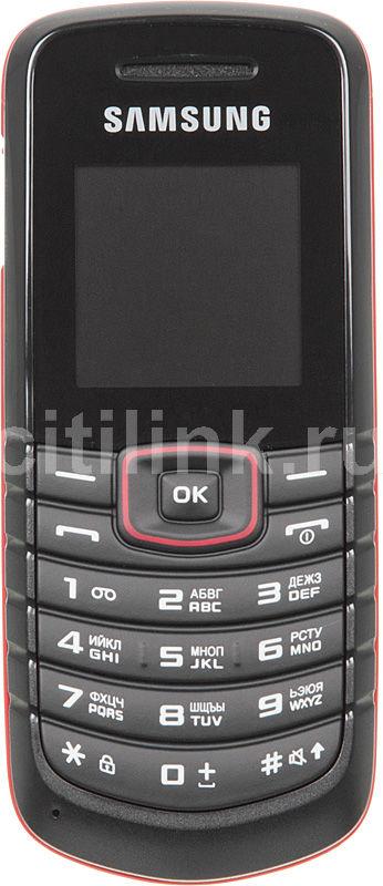 Мобильный телефон SAMSUNG Diva GT-E1080  красный