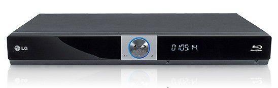 Плеер Blu-ray LG BD-370, черный
