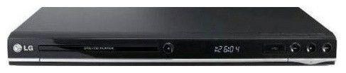 DVD-плеер LG DVX-457K,  черный