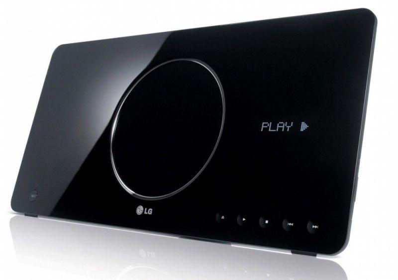 DVD-плеер LG TS-200,  черный,  настенное крепление