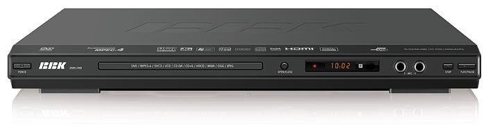 DVD-плеер BBK DV917HD,  черный,  диск 500 песен