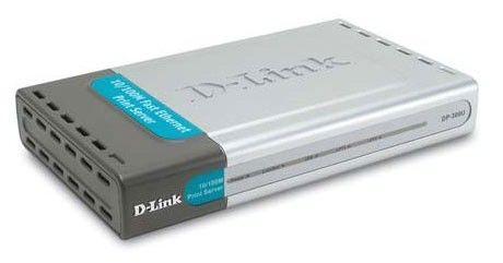 Принт-сервер D-LINK DP-300U внешний [dp-300u/e]