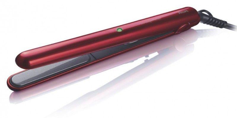 Выпрямитель для волос PHILIPS HP8331,  красный