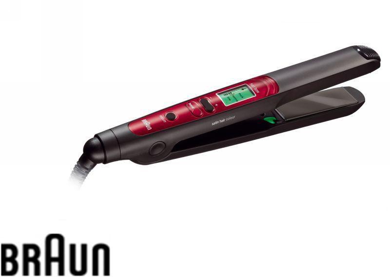 Выпрямитель для волос BRAUN Satin Hair ES3C,  черный [81271187]