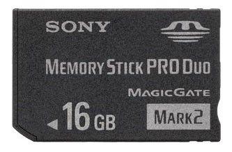 Карта памяти Memory Stick Pro Duo SONY 16 ГБ, MSMT16GN-USB2,  1 шт.