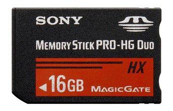 Карта памяти Memory Stick Pro HG Duo SONY 16 ГБ, MSHX16G,  1 шт.