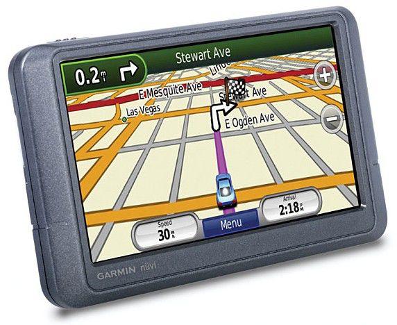 """GPS навигатор GARMIN Nuvi 205W,  4.3"""",  авто, Garmin,  серый"""