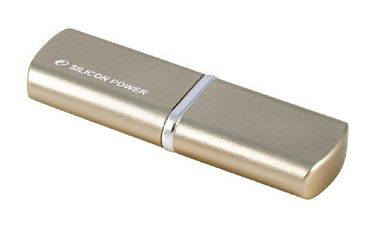 Флешка USB SILICON POWER LuxMini 720 4Гб, USB2.0, золотистый [sp004gbuf2720v1g]