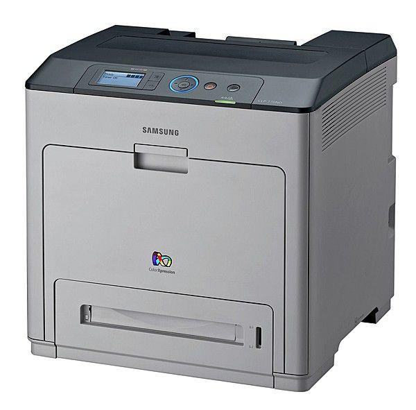Принтер SAMSUNG CLP-770ND/XEV лазерный, цвет:  белый