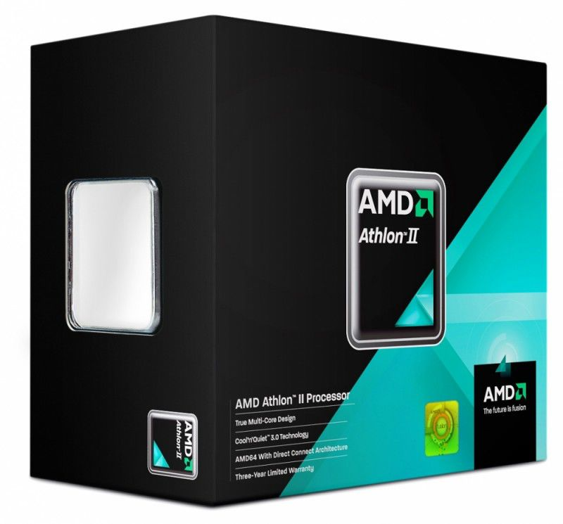 Процессор AMD Athlon II X4 635, SocketAM3 BOX [adx635wfgibox]