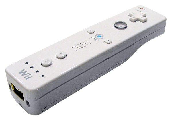 Беспроводной контроллер NINTENDO Remote, для  Wii, белый [34570]