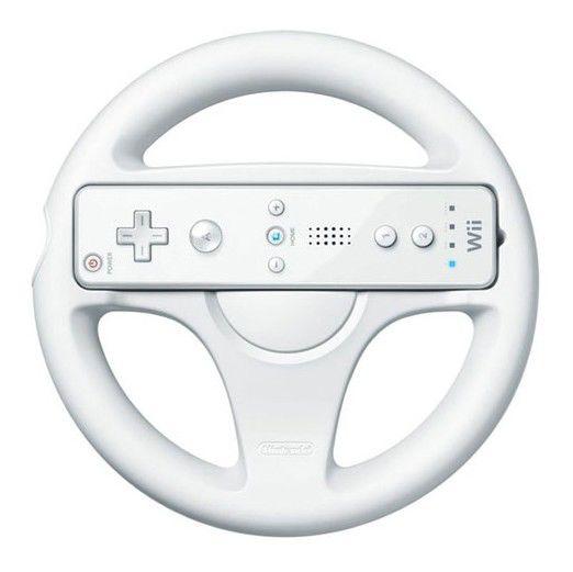Беспроводной контроллер NINTENDO Wheel, для  Wii [47169]