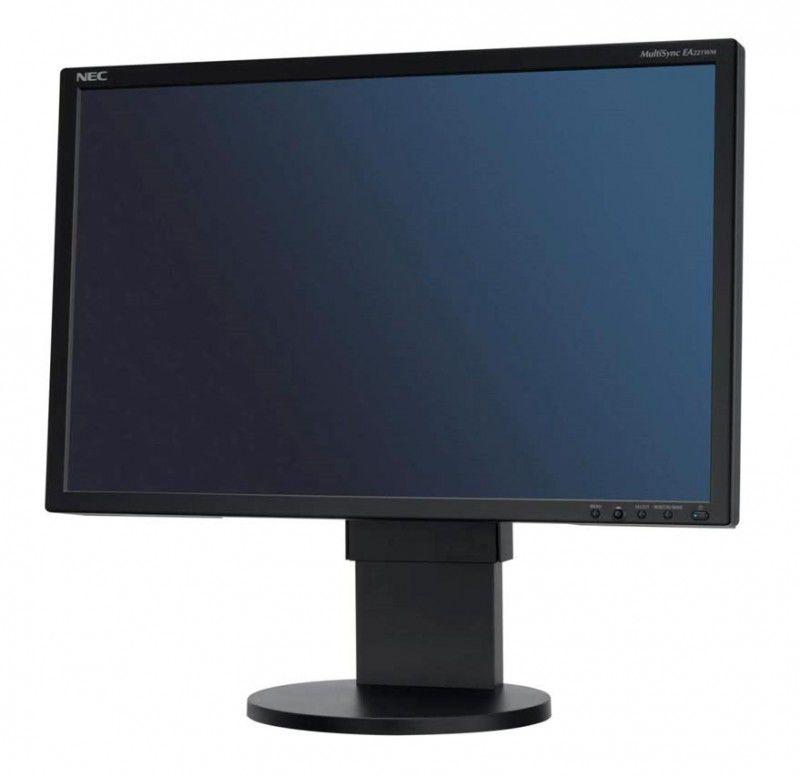 Монитор ЖК NEC MultiSync EA222WMe-BK 22