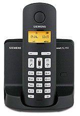 Радиотелефон SIEMENS AL140 Duo,  черный