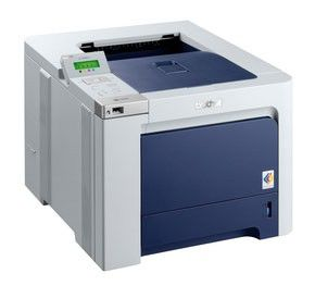 Принтер BROTHER HL-4040CN лазерный, цвет:  белый [hl4040cn]