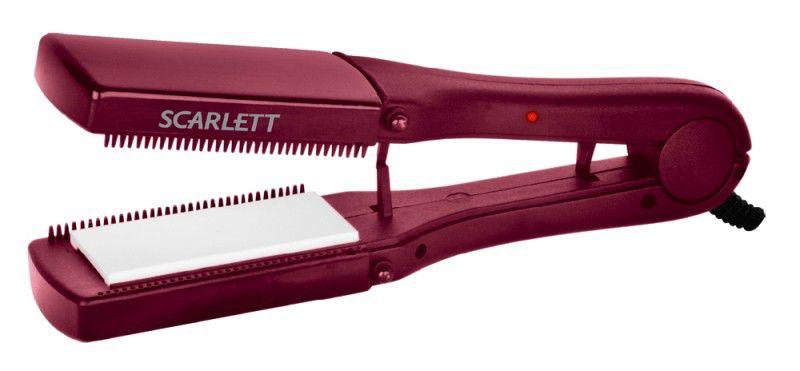 Выпрямитель для волос SCARLETT SC-069,  бордовый [sc069]