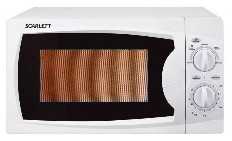 Микроволновая печь SCARLETT SC-1704, белый