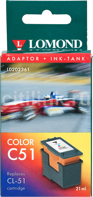 Картридж LOMOND CL-51 голубой / пурпурный / желтый [l0202361]