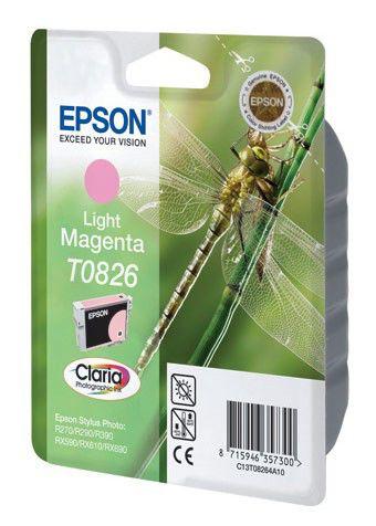 Картридж EPSON T0826 светло-пурпурный [c13t11264a10]