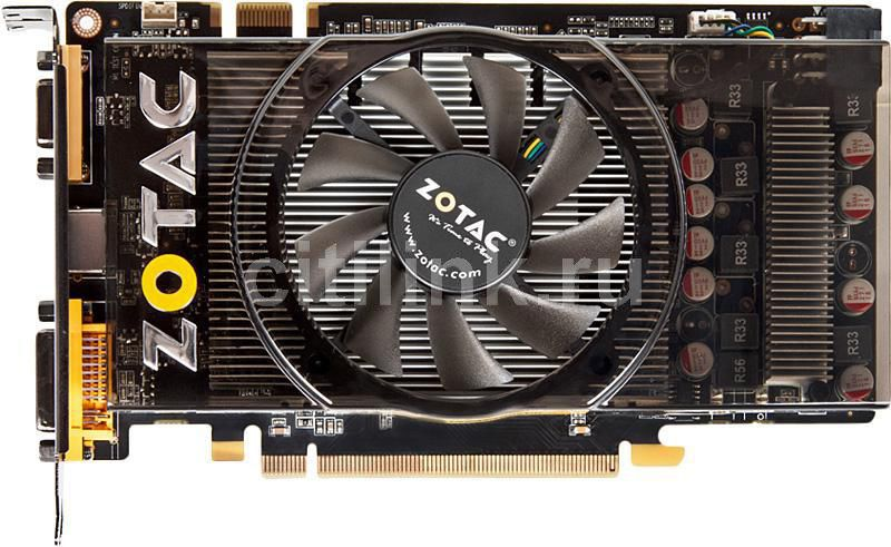 Видеокарта ZOTAC GeForce GTS250 Eco, ZT-20110-10P,  512Мб, GDDR3, Ret