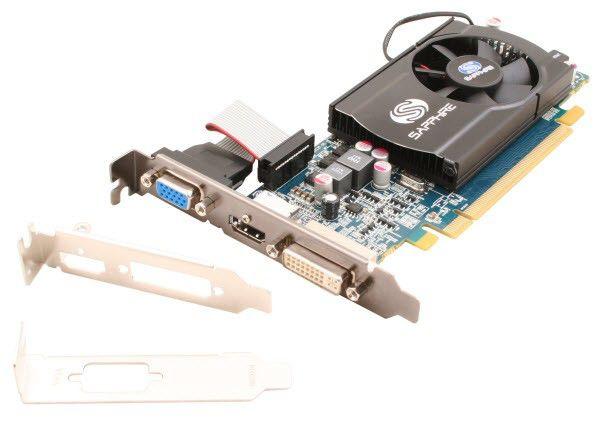 Видеокарта SAPPHIRE Radeon HD 5550,  1Гб, DDR3, Low Profile,  oem [11170-xx-10r]