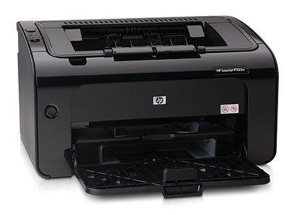 Принтер HP LaserJet Pro P1102w лазерный, цвет:  черный [ce657a]