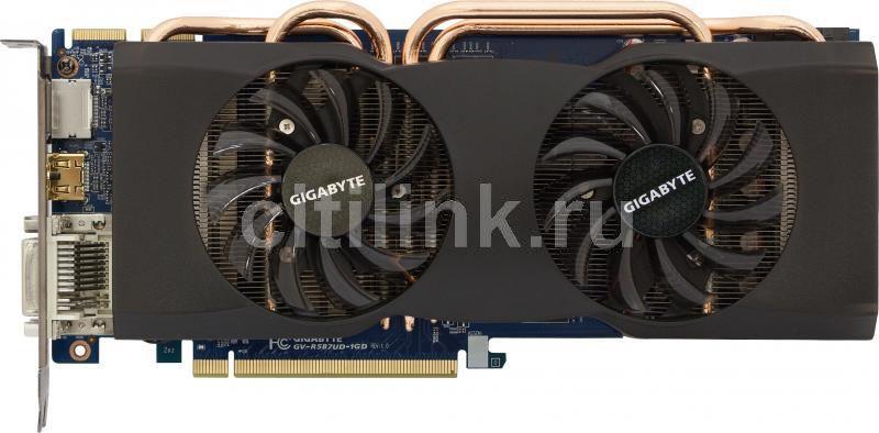 Видеокарта GIGABYTE Radeon HD 5870,  1Гб, GDDR5, Ret [gv-r587ud-1gd]