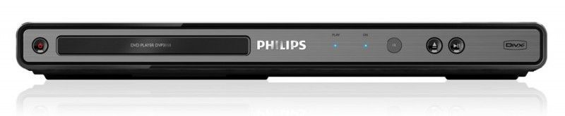 DVD-плеер PHILIPS DVP3111/51,  черный