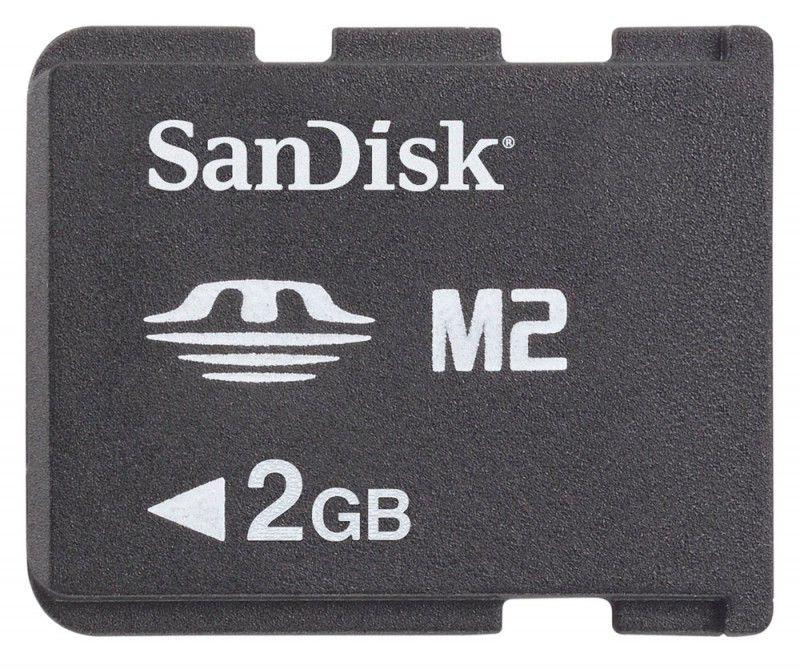 Карта памяти Memory Stick Micro M2 SANDISK 2 ГБ, SDMSM2-002G-E11M,  1 шт.