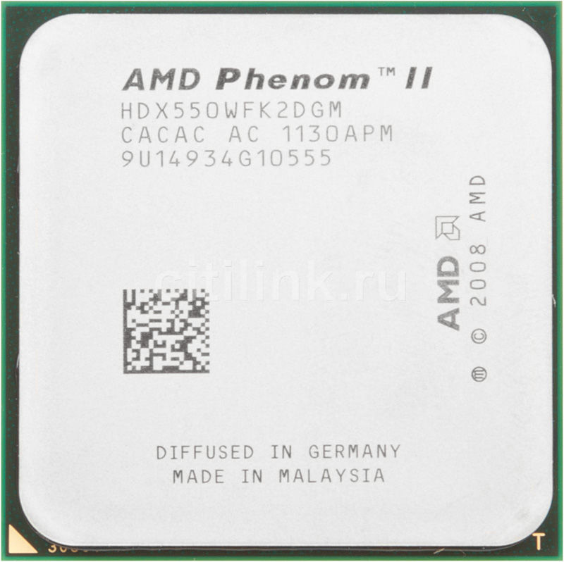 Процессор AMD Phenom II X2 550, SocketAM3 OEM [hdx550wfk2dgm]